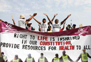 Photo by Legogang Mokwela, courtesy of the Treatment Action Campaign Archive