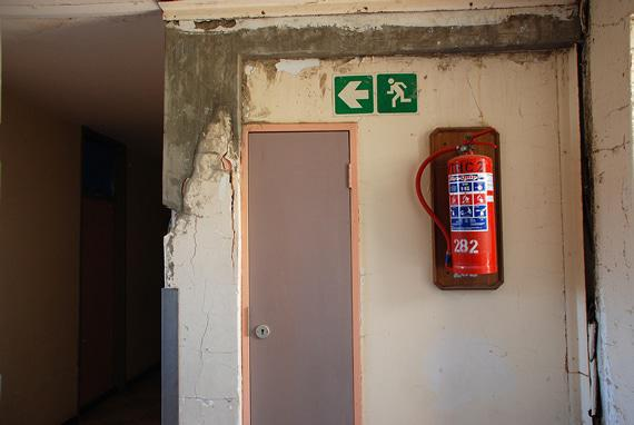 No one's bothered to do repairs or maintenance at the nurses' accommodation.