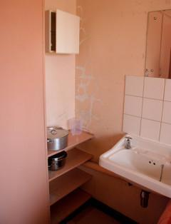 Peeling paint, cracked walls and zero maintenance is the norm at the rooms of the nurses' accommodation at the Bongani Hospital Nursing School.