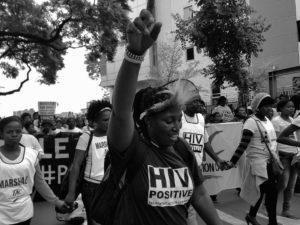 Treatment Action Campaign (TAC) march Pretoria, 2014. Photo: Treatment Action Campaign