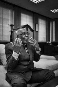 South African Minister of Health, Aaron Motsoaledi. Photo: David Harrison