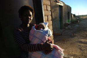 Sitting on her stoep with her month-old baby, teenager Kekeletso Kikilame is unhappy and angry with the service she received at the JS Moraka Hospital when she gave birth to her child