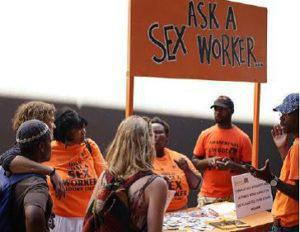 Members of the public are encouraged to ask the sex work questions about things they have always wanted to know.