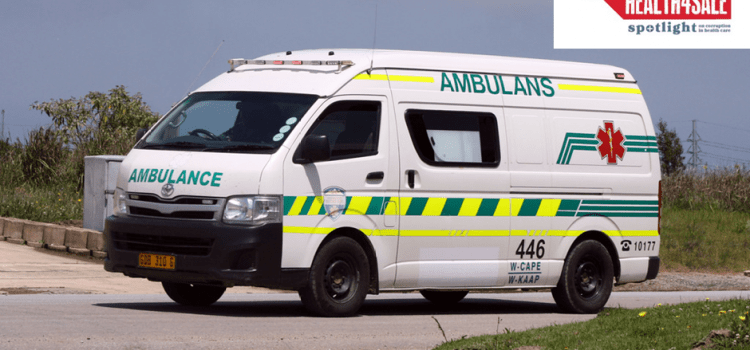 Health4Sale Part 1: North West blows HIV money on controversial private ambulance service