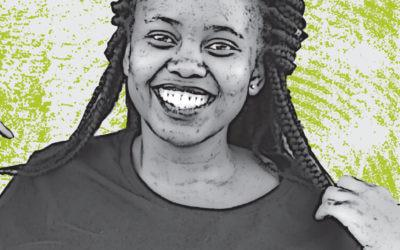 Living positively:  Saidy Brown, Mafikeng