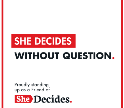 A new normal where SheDecides: What needs to happen to get there?