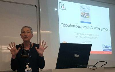 Don't get stuck in HIV triumphalism, warns Linda-Gail Bekker