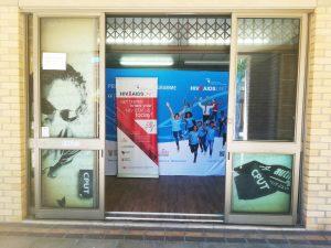 The HIV/AIDS unit at the Cape Peninsula University of Technology.
