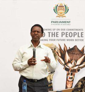 Dr Sibongiseni Dhlomo, chair of Parliament's Portfolio Committee on Health. PHOTO: Nasief Manie/Spotlight