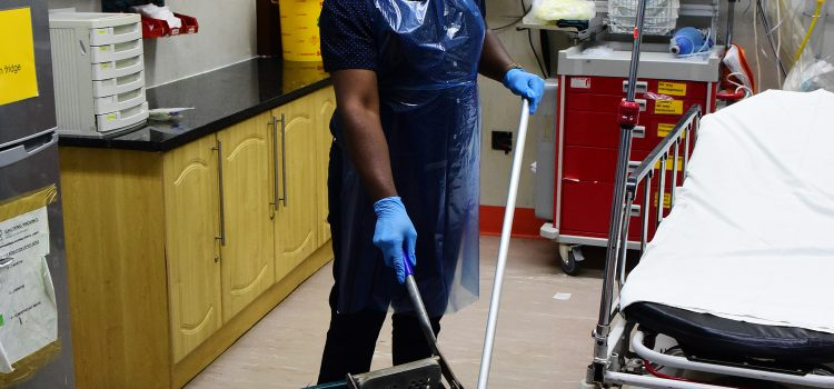 What it's like: Being a cleaner at the Charlotte Maxeke casualty ward