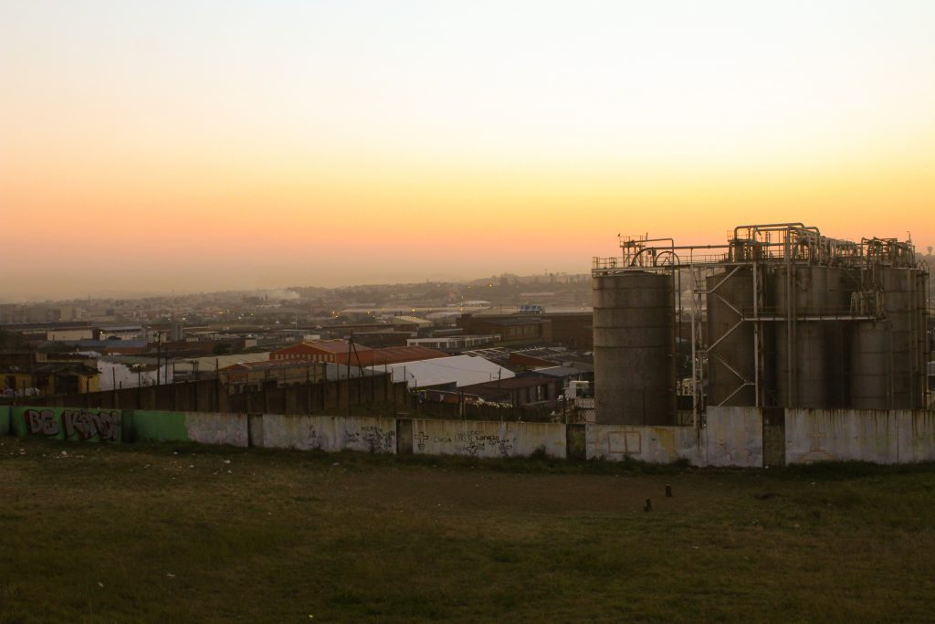 Residents in communities of the South Durban Basin living close to petrochemical industries complain that they cannot breathe due to polluted air from the refineries. PHOTO: Sandile Duma/Spotlight