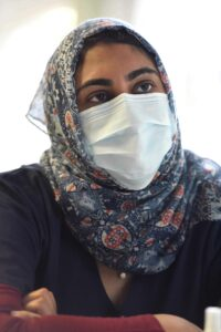 Dr Arifa Parker, infectious diseases specialist at Tygerberg Hospital reflects on the COVID response since last year. PHOTO: Nasief Manie/Spotlight