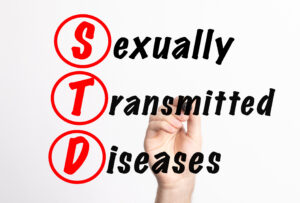 graphic that reads: STD