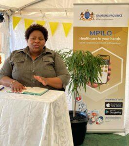 Gauteng Health MEC Dr Nomathemba Mokgethi