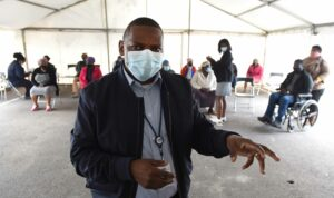 desmond grootboom, facility manager at the Site B Day Hospital
